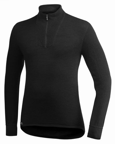 WOOLPOWER Turtelneck - 200 - Black