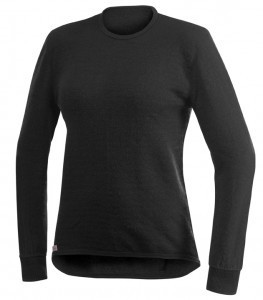 WOOLPOWER Crewneck - 200 - Black