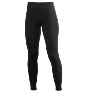 WOOLPOWER Unterhose - LONG JOHNS 200 - Black