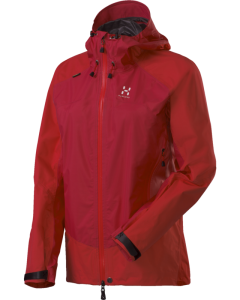 HAGLÖFS Damen-Jacke - RIVAL Q JACKET - Rich Red_Real Red